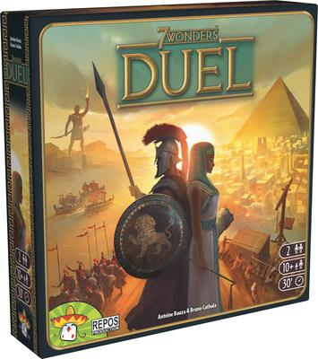 All details for the board game 7 Wonders Duel and similar games