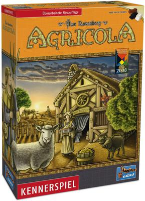 All details for the board game Agricola and similar games