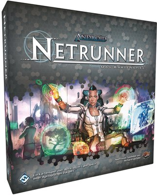 All details for the board game Android: Netrunner and similar games
