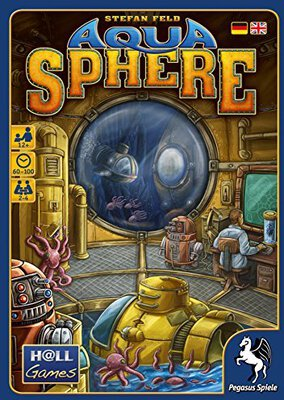 All details for the board game AquaSphere and similar games