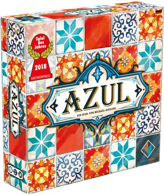 All details for the board game Azul and similar games
