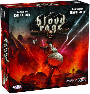 All details for the board game Blood Rage and similar games