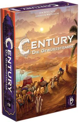 All details for the board game Century: Spice Road and similar games