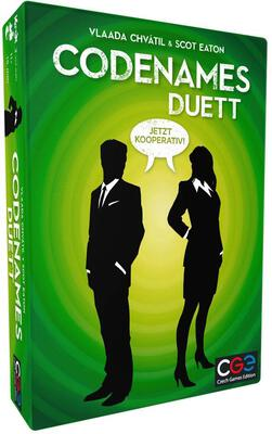 All details for the board game Codenames: Duet and similar games