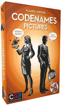 All details for the board game Codenames: Pictures and similar games