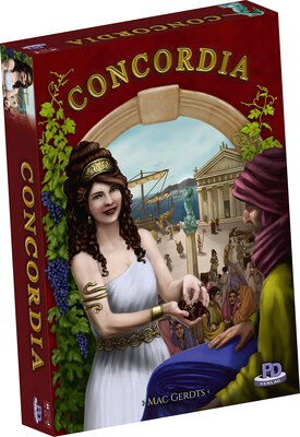 All details for the board game Concordia and similar games