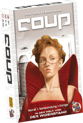All details for the board game Coup and similar games