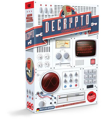 All details for the board game Decrypto and similar games