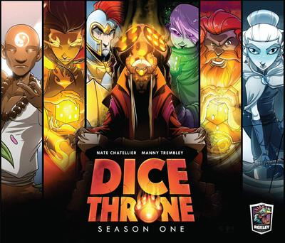 All details for the board game Dice Throne: Season One and similar games