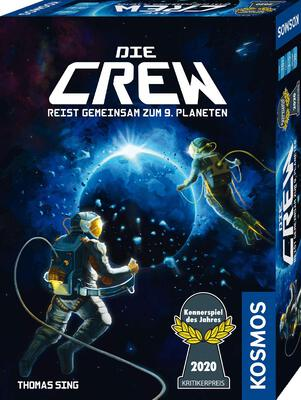 All details for the board game The Crew: The Quest for Planet Nine and similar games