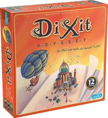 View all details for the board game Dixit: Odyssey