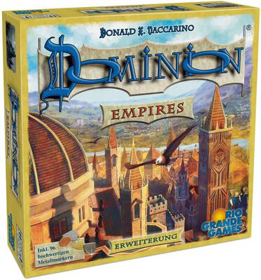 View all details for the board game Dominion: Empires