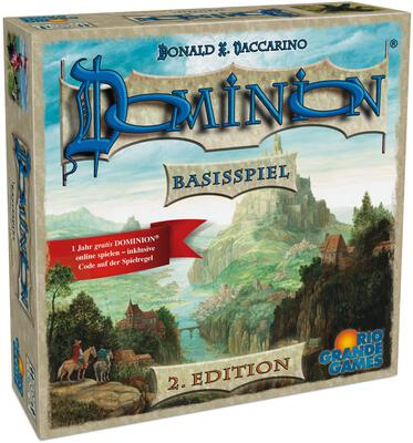 All details for the board game Dominion and similar games