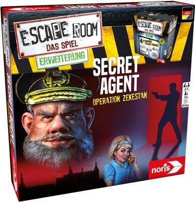 View all details for the board game Escape Room: The Game – Secret Agent
