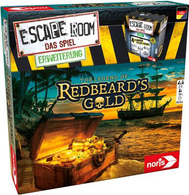 View all details for the board game Escape Room: The Game – The Legend of Redbeard's Gold