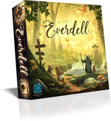 All details for the board game Everdell and similar games