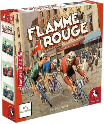 All details for the board game Flamme Rouge and similar games