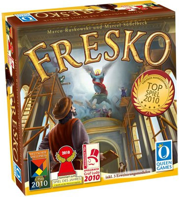 All details for the board game Fresco and similar games