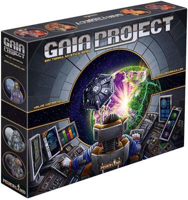 All details for the board game Gaia Project and similar games