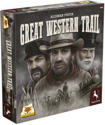 All details for the board game Great Western Trail and similar games