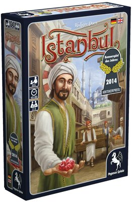 All details for the board game Istanbul and similar games