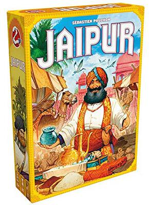 All details for the board game Jaipur and similar games