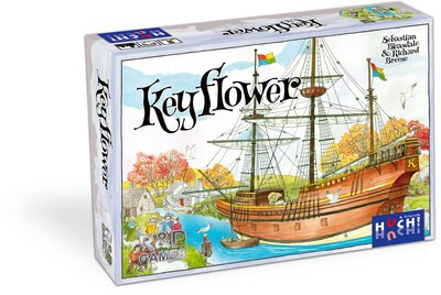 All details for the board game Keyflower and similar games