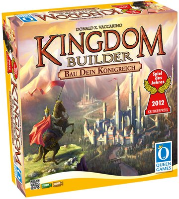 All details for the board game Kingdom Builder and similar games