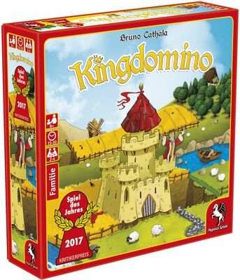 All details for the board game Kingdomino and similar games