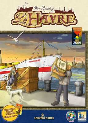 All details for the board game Le Havre and similar games