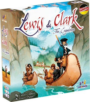 All details for the board game Lewis & Clark: The Expedition and similar games
