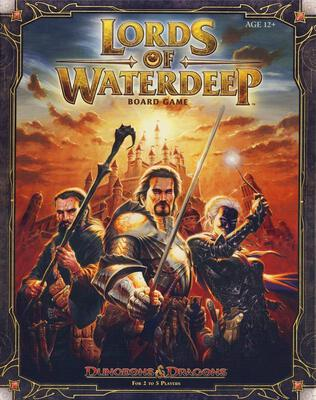 All details for the board game Lords of Waterdeep and similar games