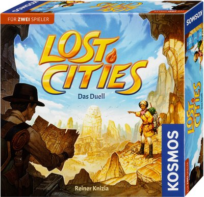 All details for the board game Lost Cities and similar games