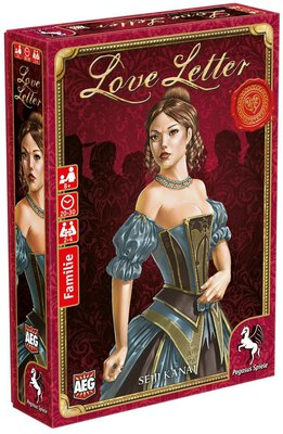 All details for the board game Love Letter and similar games