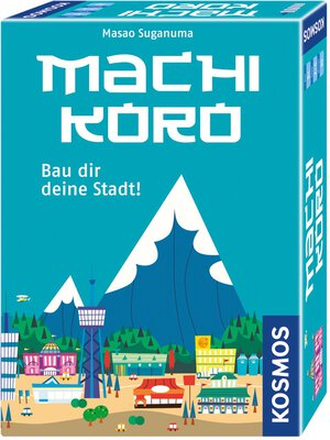 All details for the board game Machi Koro and similar games