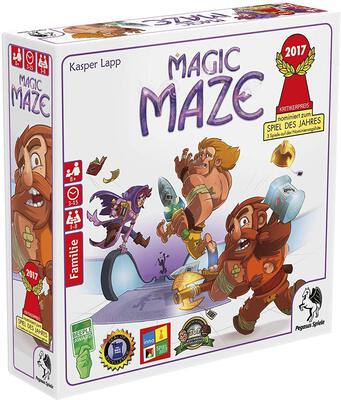 All details for the board game Magic Maze and similar games