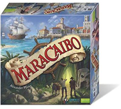 All details for the board game Maracaibo and similar games