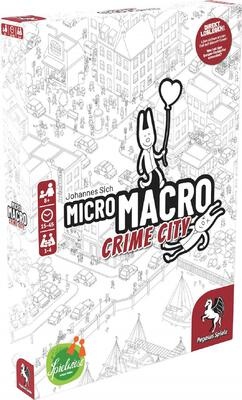 All details for the board game MicroMacro: Crime City and similar games