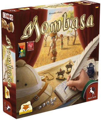 All details for the board game Mombasa and similar games
