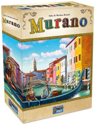 All details for the board game Murano and similar games