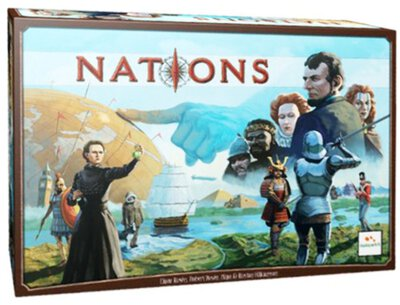 All details for the board game Nations and similar games