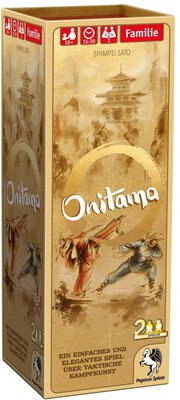All details for the board game Onitama and similar games
