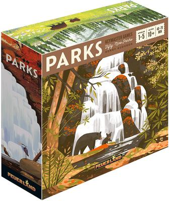 All details for the board game PARKS and similar games