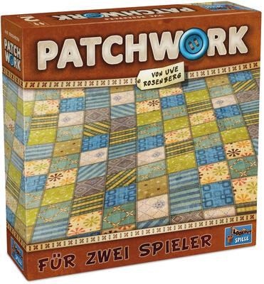 All details for the board game Patchwork and similar games