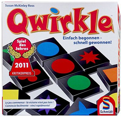 All details for the board game Qwirkle and similar games