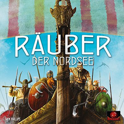 All details for the board game Raiders of the North Sea and similar games
