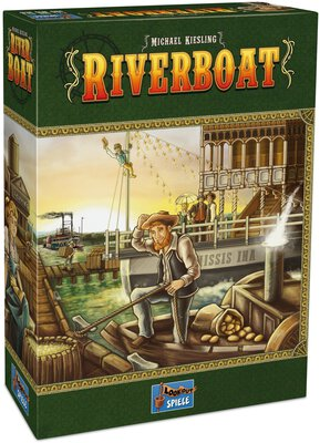All details for the board game Riverboat and similar games