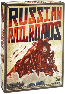 All details for the board game Russian Railroads and similar games