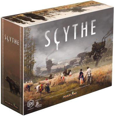All details for the board game Scythe and similar games