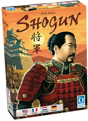 All details for the board game Shogun and similar games